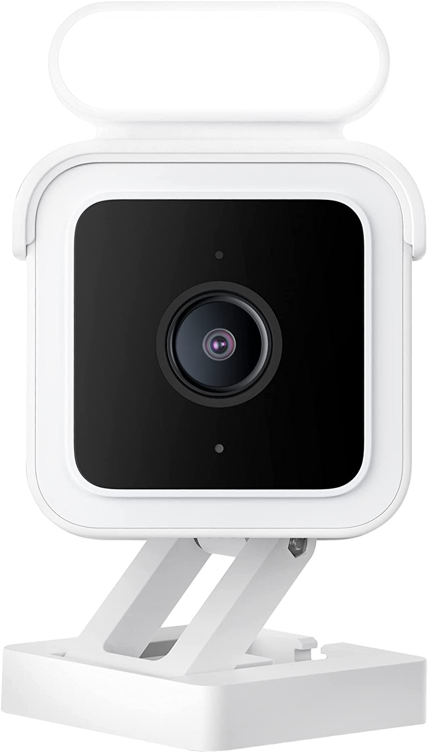 Wyze Cam Spotlight, Wyze Cam v3 Security Camera with Spotlight Kit, 1080p HD Security Camera with Two-Way Audio and Siren, IP65 Weatherproof, Compatible with Alexa and Google Assistant